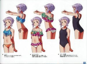 Rating: Questionable Score: 7 Tags: ass bikini binding_discoloration character_design makabe_mizuki school_swimsuit swimsuits tagme the_idolm@ster the_idolm@ster_million_live! User: Radioactive