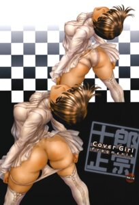 Rating: Questionable Score: 29 Tags: ass erect_nipples panty_pull shirow_masamune thighhighs User: limalama