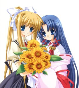 Rating: Safe Score: 5 Tags: air hinoue_itaru kamio_misuzu kannabi_no_mikoto key miko seifuku User: marechal