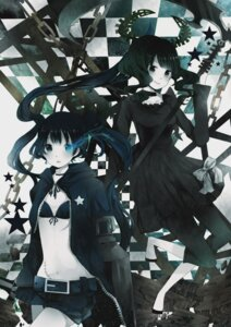 Rating: Safe Score: 10 Tags: bikini_top black_rock_shooter black_rock_shooter_(character) komine vocaloid User: fairyren