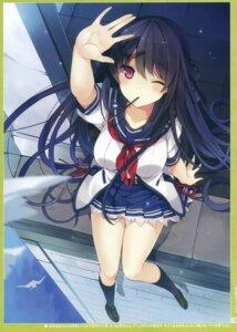 Rating: Questionable Score: 59 Tags: ao_no_kanata_no_four_rhythm mishima_kurone seifuku suzumori tobisawa_misaki User: kiyoe