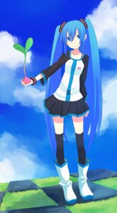 Rating: Safe Score: 8 Tags: hatsune_miku kosa_k thighhighs vocaloid User: yumichi-sama