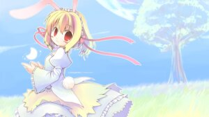 Rating: Safe Score: 15 Tags: animal_ears bunny_ears emurin lolita_fashion wallpaper User: usotsuki