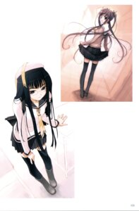Rating: Safe Score: 15 Tags: akata_itsuki megane seifuku thighhighs User: blooregardo