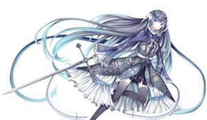 Rating: Safe Score: 26 Tags: dress stari sword thighhighs User: charunetra