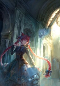 Rating: Safe Score: 47 Tags: animal_ears dress jlien- kaenbyou_rin touhou User: Mr_GT