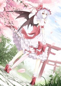 Rating: Safe Score: 53 Tags: cloudy.r dress remilia_scarlet touhou wings User: Mr_GT