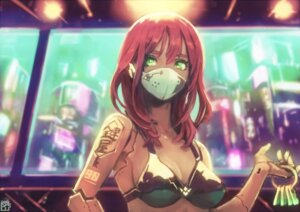 Rating: Questionable Score: 11 Tags: bra cleavage mecha_musume okuto User: BattlequeenYume