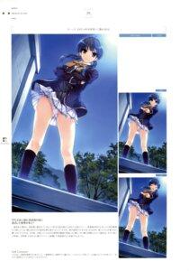 Rating: Questionable Score: 22 Tags: hasekura_airi misaki_kurehito ushinawareta_mirai_wo_motomete User: Twinsenzw