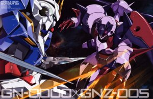 Rating: Safe Score: 3 Tags: 00_gundam garazzo gundam gundam_00 mecha ootsuka_ken sword User: Aurelia