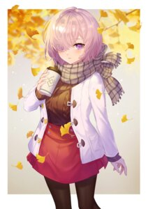 Rating: Questionable Score: 15 Tags: fate/grand_order littleamber mash_kyrielight pantyhose sweater User: Dreista
