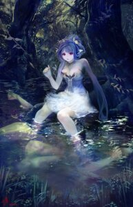 Rating: Safe Score: 19 Tags: akashiba cleavage dress monster_girl wet User: blooregardo