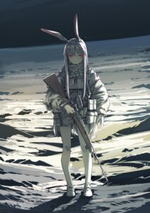 Rating: Safe Score: 47 Tags: animal_ears azling bunny_ears gun reisen_udongein_inaba touhou User: Mr_GT