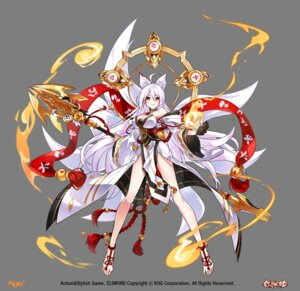 Rating: Safe Score: 44 Tags: animal_ears ara_haan cleavage elsword japanese_clothes kitsune tagme tail transparent_png weapon User: Nepcoheart