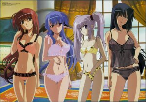 Rating: Questionable Score: 37 Tags: benibara_nadeshiko bra cleavage crease hosoda_naoto kojima_chika lingerie lisianthus nerine pantsu pointy_ears primula see_through shuffle takano_aya User: Radioactive