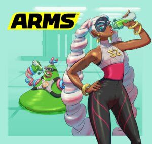 Rating: Questionable Score: 8 Tags: arms helix monster nintendo twintelle_(arms) User: fly24