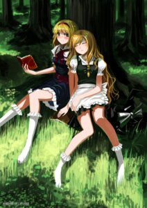 Rating: Safe Score: 39 Tags: alice_margatroid kirisame_marisa maisaki touhou User: Radioactive