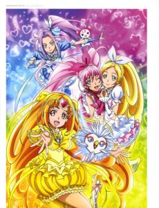 Rating: Questionable Score: 6 Tags: dress heels houjou_hibiki hummy kurokawa_ellen minamino_kanade neko noise_(suite_precure) pretty_cure shirabe_ako suite_pretty_cure takahashi_akira thighhighs User: drop