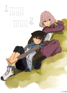 Rating: Safe Score: 12 Tags: calendar kitakami_midori neon_genesis_evangelion suzuhara_sakura User: drop