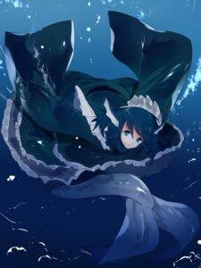 Rating: Safe Score: 20 Tags: ikurauni mermaid monster_girl tail touhou wakasagihime User: charunetra