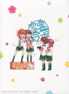 Rating: Safe Score: 19 Tags: ichikawa_nana kurahashi_riko love_lab maki_natsuo minami_momoka miyahara_ruri seifuku User: Radioactive