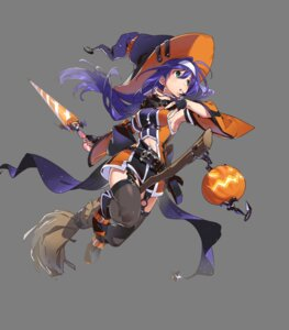 Rating: Questionable Score: 11 Tags: fire_emblem fire_emblem:_souen_no_kiseki fire_emblem_heroes halloween nintendo stockings thighhighs transparent_png wayu weapon witch yoneyama_mai User: Radioactive