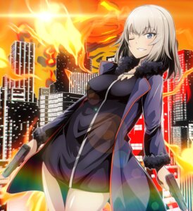 Rating: Safe Score: 9 Tags: cosplay fate/grand_order girls_und_panzer gun itsumi_erika jeanne_d'arc jeanne_d'arc_(alter)_(fate) tom_(drpow) User: Mr_GT