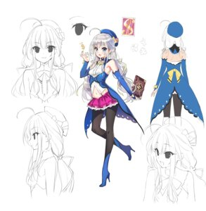 Rating: Questionable Score: 19 Tags: akito_wa_card_wo_hikuyou_desu character_design heels pantyhose sketch tagme youta User: zyll