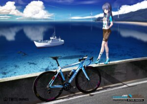 Rating: Questionable Score: 16 Tags: bike_shorts heels hitomi_kazuya landscape User: Dreista