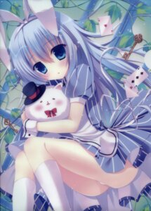 Rating: Questionable Score: 101 Tags: dress gochuumon_wa_usagi_desu_ka? hasune hasuneya kafuu_chino pantsu tippy_(gochuumon_wa_usagi_desu_ka?) User: Heavybell