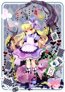 Rating: Safe Score: 13 Tags: alice alice_in_wonderland dinah dress gun neko tanaka_nyan User: charunetra