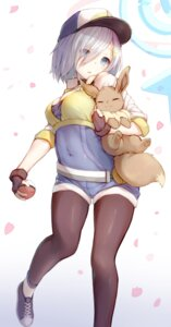 Rating: Safe Score: 98 Tags: cosplay eevee hamakaze_(kancolle) kantai_collection kato_roku pantyhose pokemon pokemon_go User: Mr_GT