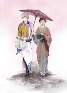 Rating: Safe Score: 7 Tags: gintama nijita otose sakata_gintoki yukata User: Radioactive