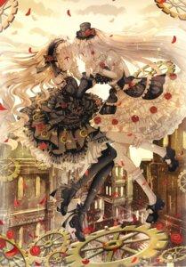 Rating: Safe Score: 10 Tags: dress gothic_lolita iceblue lolita_fashion yuri User: Mr_GT
