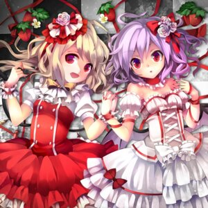 Rating: Safe Score: 37 Tags: dress flandre_scarlet remilia_scarlet ringpearl touhou User: Mr_GT