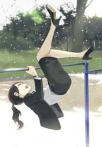 Rating: Safe Score: 22 Tags: business_suit heels saitou_yuu User: saemonnokami