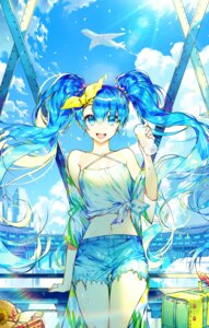 Rating: Safe Score: 9 Tags: hatsune_miku hayanse torn_clothes vocaloid User: Mr_GT
