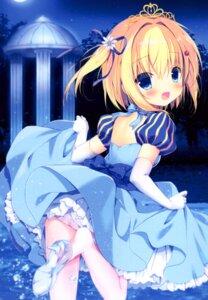 Rating: Safe Score: 18 Tags: canvas+garden dress heels lemon-chan melonbooks miyasaka_miyu pantsu pantyhose skirt_lift User: lightsnow