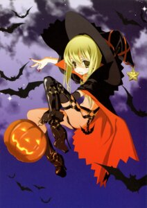 Rating: Questionable Score: 17 Tags: halloween kyougetsutei miyashita_miki paper_texture witch User: crim