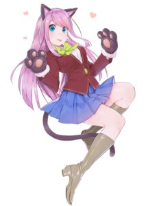 Rating: Safe Score: 26 Tags: animal_ears hashimoto_nyaa heels mayuri_kaichou nekomimi osomatsu-san seifuku tail User: Mr_GT