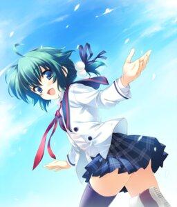 Rating: Safe Score: 39 Tags: hoshi_no_ouji-kun qp:flapper seifuku thighhighs trap yuri_golovnin User: pantsutsu