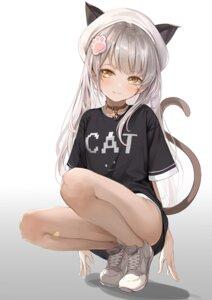 Rating: Questionable Score: 48 Tags: animal_ears cameltoe dampi nekomimi pantsu tail User: hiroimo2