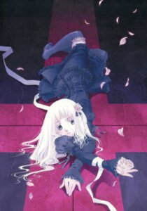 Rating: Safe Score: 15 Tags: dress gothic_lolita lolita_fashion shiina_yuu tenkyudho thighhighs User: midzki