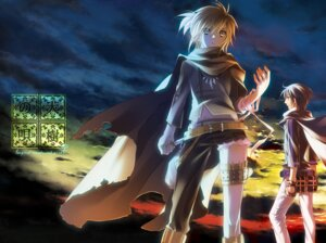 Rating: Safe Score: 8 Tags: kagamine_len kaito male migiwa_hasu vocaloid User: charunetra