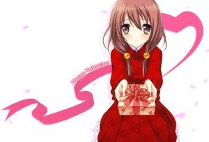Rating: Safe Score: 35 Tags: himegi_hotaru kono_oozora_ni_tsubasa_wo_hirogete motoi_ayumu pulltop valentine User: Anonymous