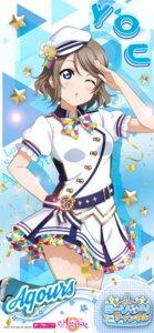 Rating: Safe Score: 15 Tags: love_live!_school_idol_festival love_live!_school_idol_festival_all_stars love_live!_sunshine!! skirt_lift tagme uniform watanabe_you User: saemonnokami