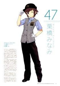 Rating: Safe Score: 4 Tags: kurihashi_minami mibu_natsuki tetsudou_musume uniform User: fireattack
