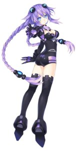 Rating: Safe Score: 79 Tags: ass bodysuit choujigen_game_neptune cleavage purple_heart thighhighs tsunako User: Kaput