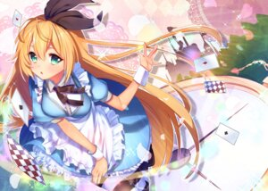 Rating: Safe Score: 23 Tags: alice alice_in_wonderland cosplay dress tagme thighhighs tsurumaki_maki voiceroid User: BattlequeenYume