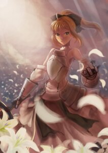 Rating: Safe Score: 27 Tags: fate/stay_night m874 saber saber_lily sword User: charunetra
